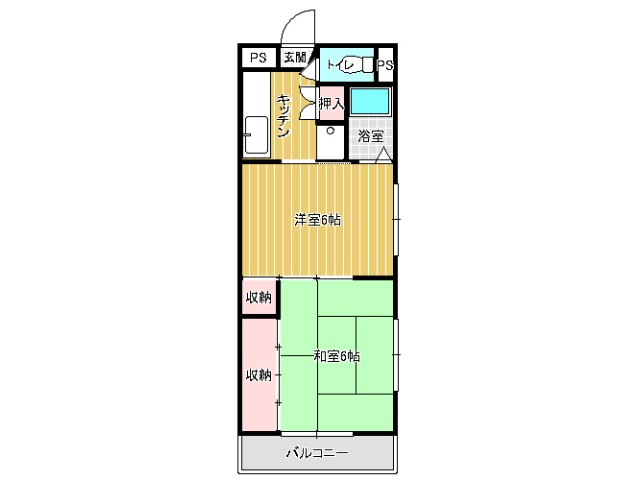 KYマンション 間取り図